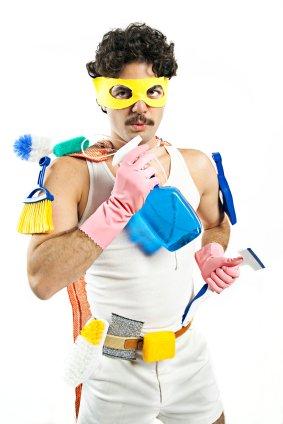 städa effektivt och snabbt med dessa tips